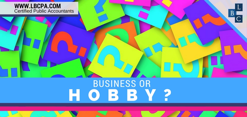 Business or Hobby?
