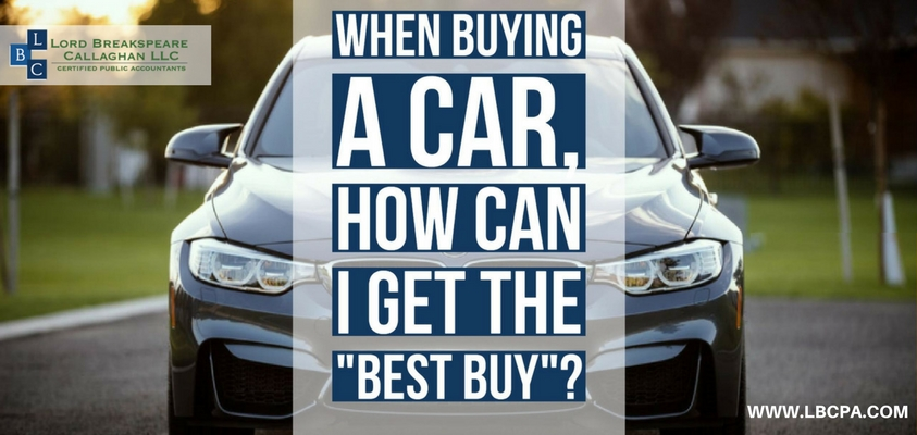 When buying a car, how can I get the