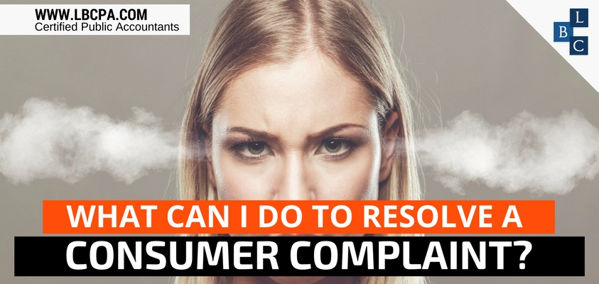 What Can I do to Resolve a Consumer Complaint