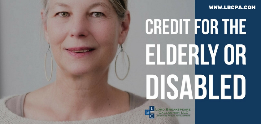 Credit for the Elderly or Disabled
