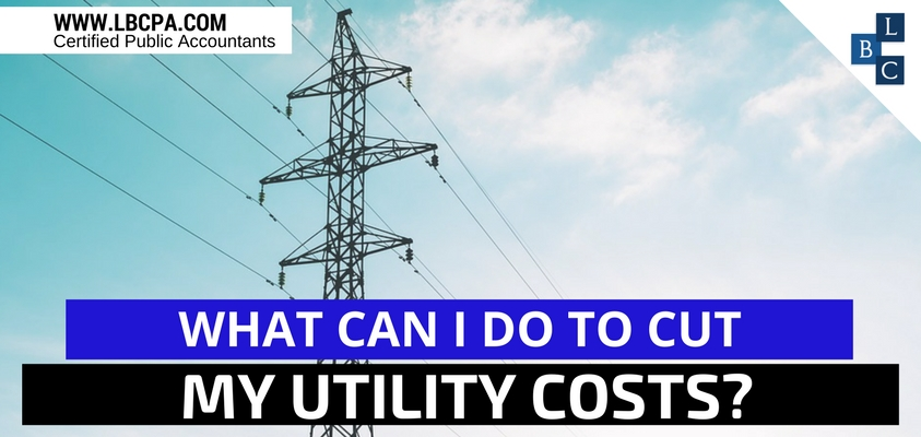 What can I do to cut my utility costs?