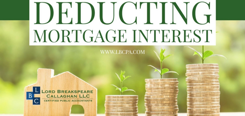 Deducting Mortgage Interest
