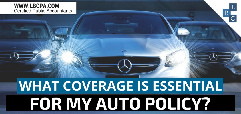 What coverage is essential for my auto policy?