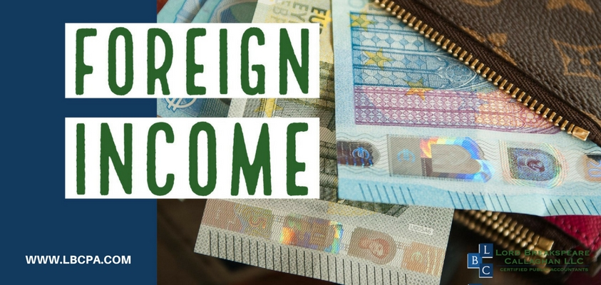 Foreign Income