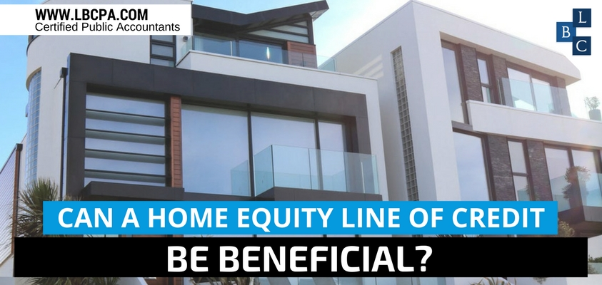 Can a home equity line of credit be benefiicial?