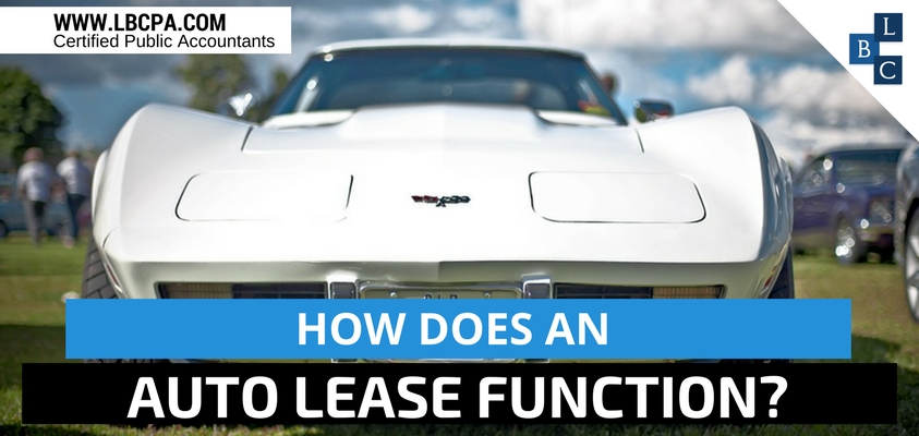 How does an auto lease function?