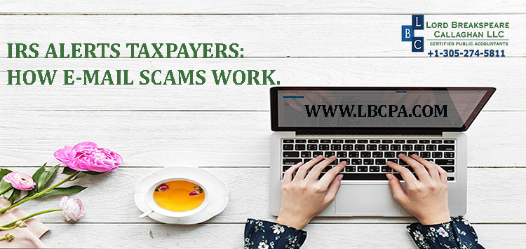 IRS alerts taxpayers: How email scams work.
