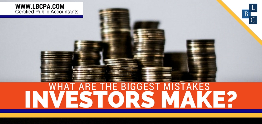 What are the biggest mistakes investors make?