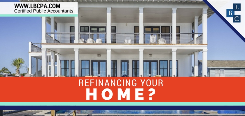 Refinancing Your Home?