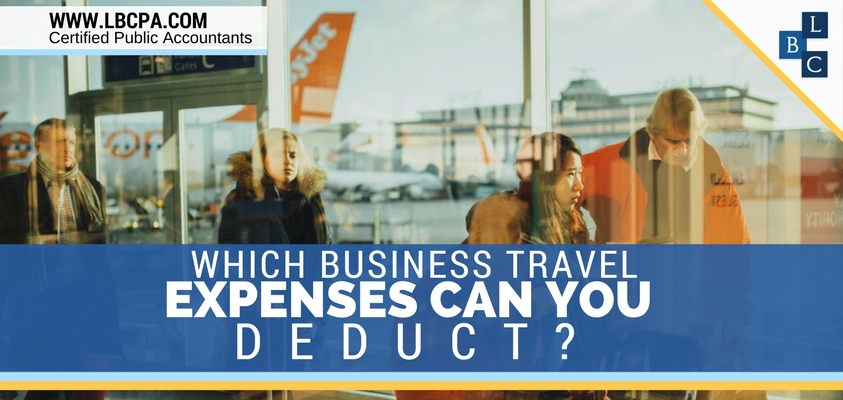 TRAVEL EXPENSES YOU CAN DEDUCT