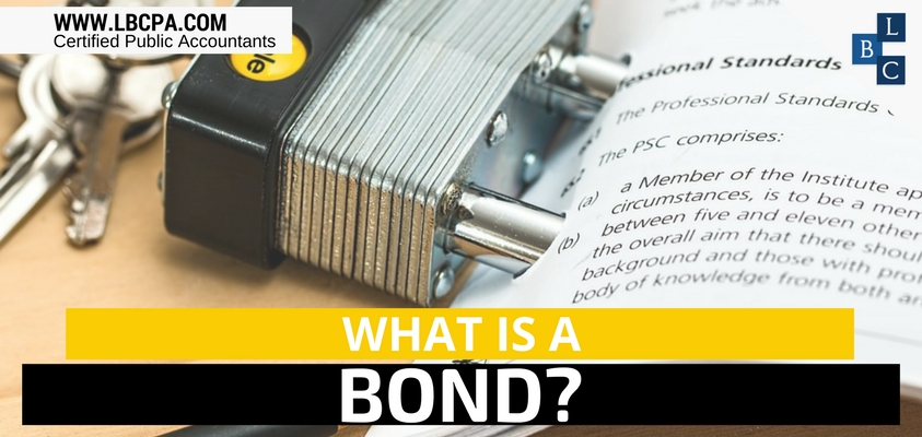 WHAT IS A BOND?