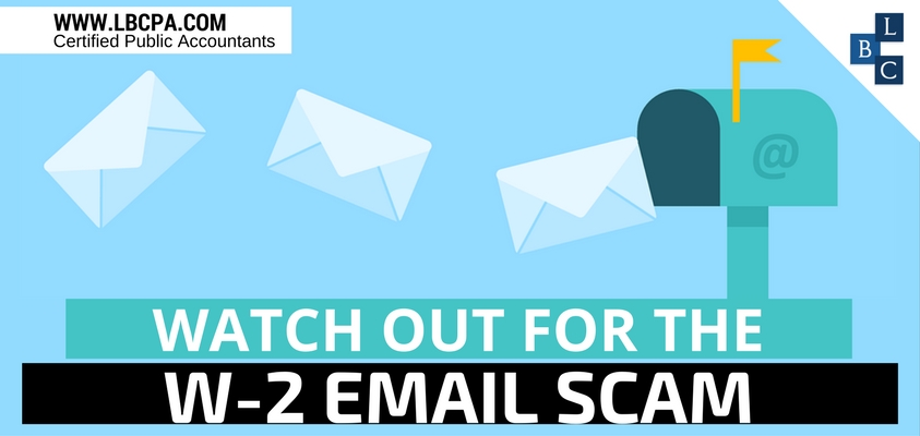 Watch Out for the W-2 Email Scam