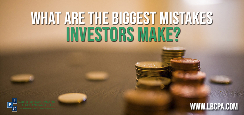 what are the biggest mistakes investors make