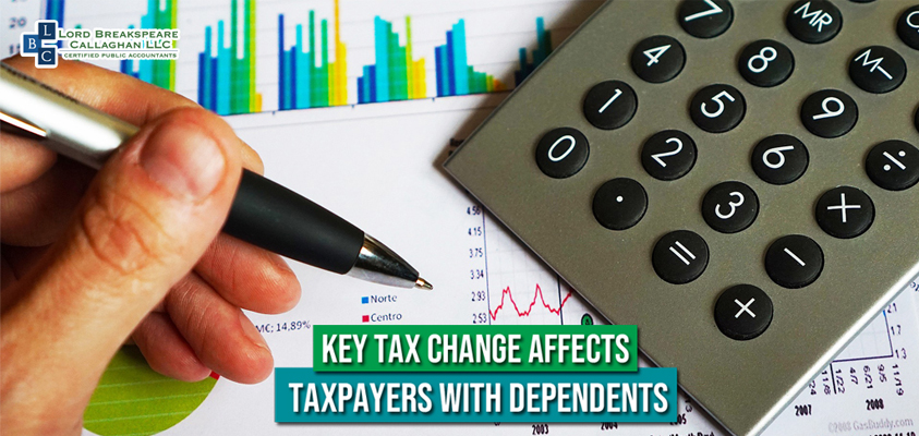 key tax change affects taxpayers with dependents