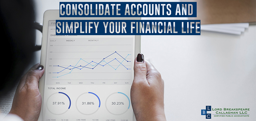 accounts consolidate