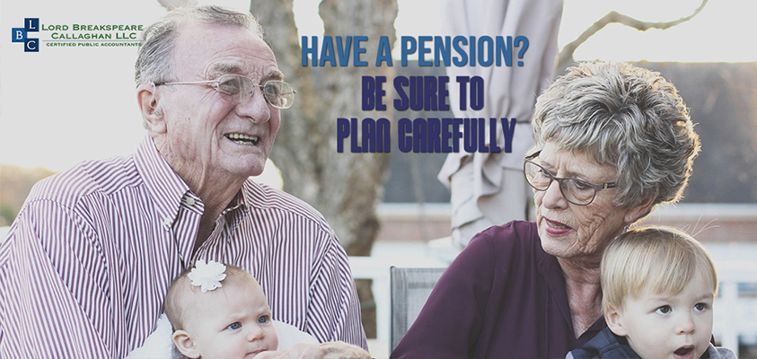 have a pension