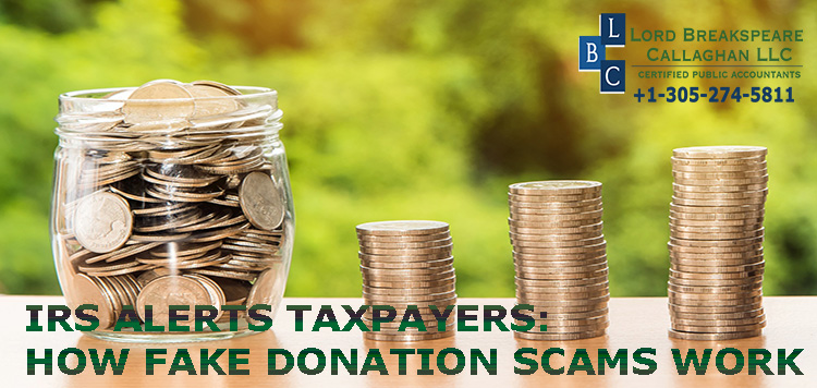 IRS alerts taxpayers: How fake donation scams work.