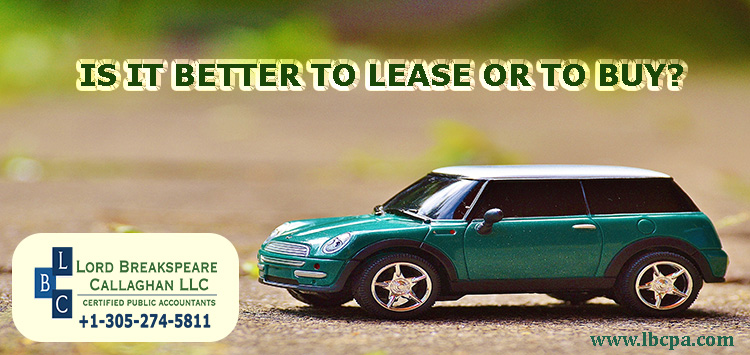 Is it better to lease or to buy?