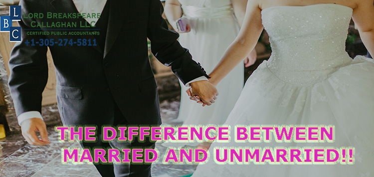 The difference between married and unmarried!!