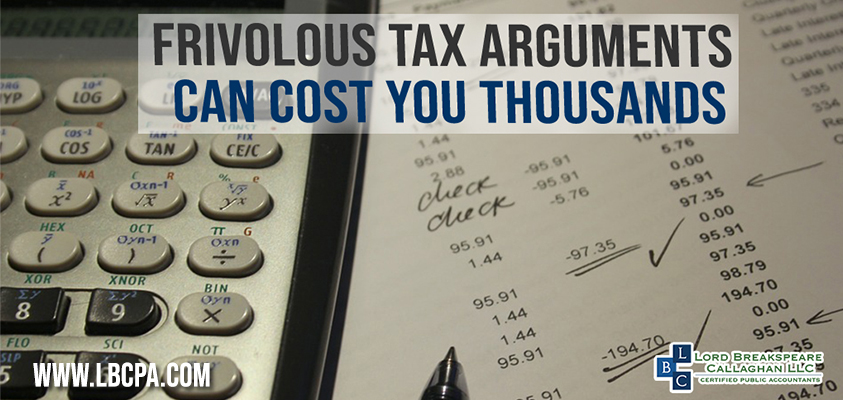 frivolous tax arguments can cost you thousands