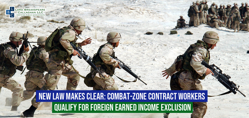 new law makes clearcombat zone contract workers qualify for foreign