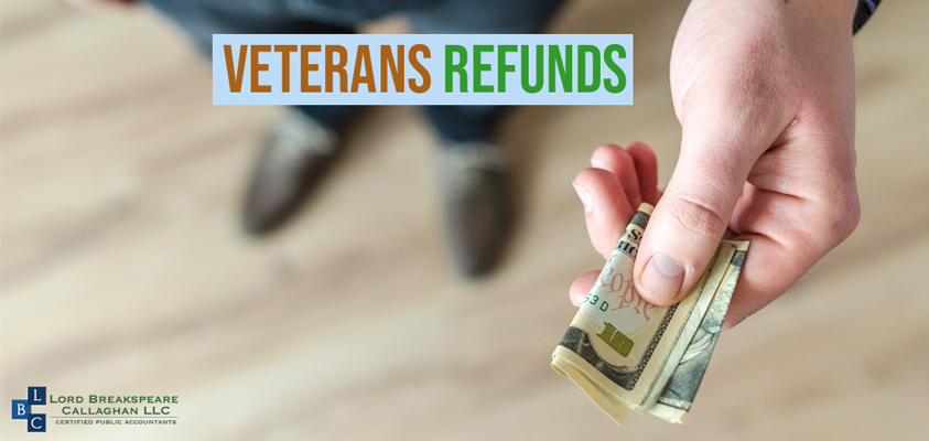 Veterans owed refunds for overpayments attributable to disability severance payments should file amended returns to claim tax refunds