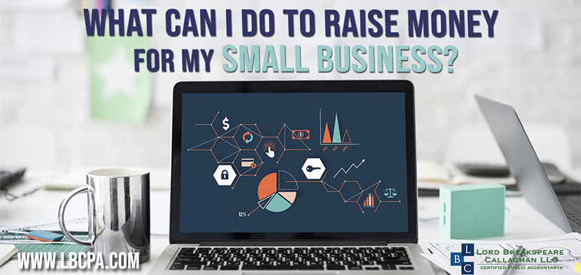 what can i do to raise money for my small business